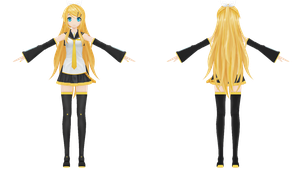 Project Diva F, Future Style Rin by xXNekochanofDoomXx