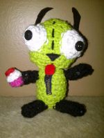 Gir with cupcake by Stock-By-Crystal