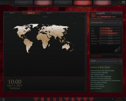 Dota 2 Rainmeter Preview by yorgash