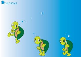 Turtles turtles by ToyKins