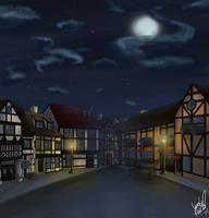 Town Square 1 by Sara-Mapes