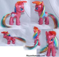 Faxy G4 Fim Custom My Little Pony Multi View by mayanbutterfly