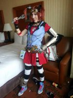 Gaige the Mechromancer Cosplay by Viverra1