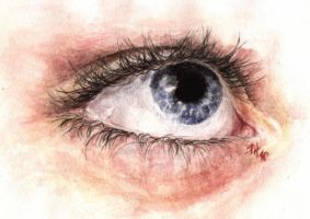 In my daughters eye 2 by PernillaHansson
