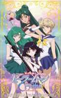 Sailor Moon Crystal Season 3 - Outer Senshi by xuweisen