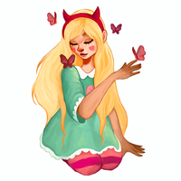 Star Butterfly by rocket-chip