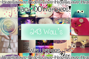 Pack1OOWatchers: Wallpapers by iHeartBelieber