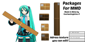 MMD Prop - Packages by EverlastingEcho-P