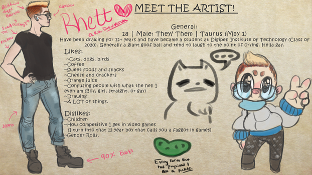 Meet the artist by Diouveruh