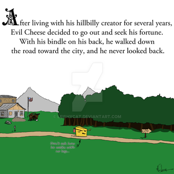 Evil Cheese Page by Divals