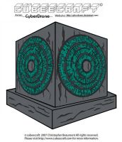 Cubeecraft - The Pandorica by CyberDrone