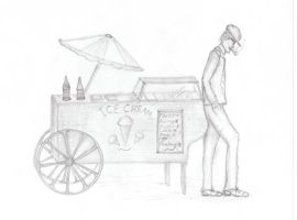 1930s Icecream Cart by Lovefashionxoxo