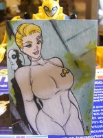 Seven of Nine Sketchcard by TheBoo