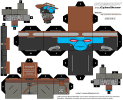 Cubee - Cad Bane '1of2' by CyberDrone