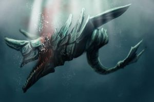 Speed paint : Underwater Monster 2 by ThoRCX