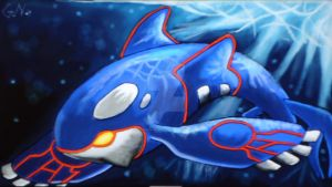 Pokemon:Kyogre by GhostNinja1373