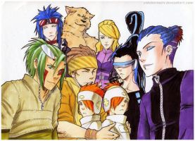 Copics:New characters by Sideburn004