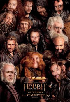 The Hobbit - One Cage To Rule Them All XD by ZombieSandwich