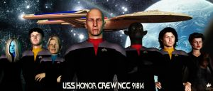 Crew of the USS Honor NCC 91814 by MotoTsume