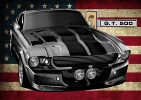 1967 Shelby GT500 Eleanor by svkustom