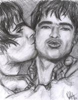 Pucker Up: Liam n' Noel by Kimori1024