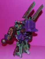 war for cybertron hook 11 by Shenron-Customs