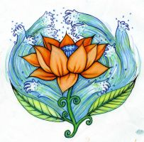 lotus by marialouise