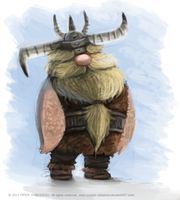 DAY 233. Generic Viking by Cryptid-Creations