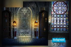 Gothic Premade Digital Background by BackgroundStore