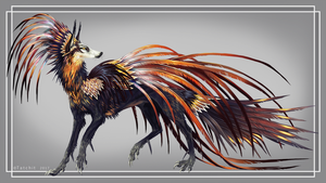 Midnight Embers Feonix by NukeRooster