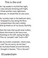 This is the end-poem by countercharm
