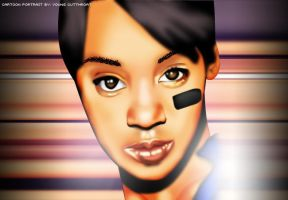 Left Eye Portrait by YoungCutthroat