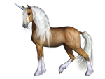 Unicorn 03 PNG Stock by Roy3D