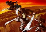 Attack on Titan by gaby14link