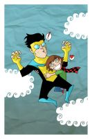 Invincible and my geeky by Cosmic-Rocket-Man