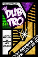 Dubtro Coyote Kisses Concert Poster by protoPrimus