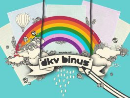 DKV BINUS website intro by IVYangelica