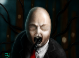 the real slender man by Ian-exe