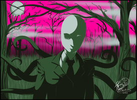 SlenderMan - 4 Colours Challenge by IsadoraBelli