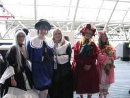 Rozen maiden cosplay group by marui