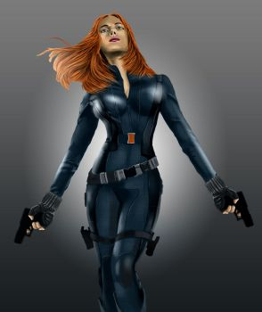 black widow-Recovered by Hawkmccloud