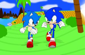 Sonic the Hedgehog: Generations of Speed by Zero20-2