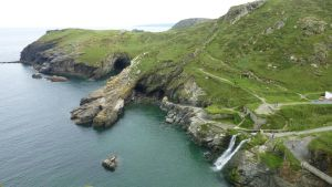 From Tintagel Castle by rhx-No-Quarter