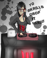 DROP IT HARD :Colored: by MiMiLovesTacoes