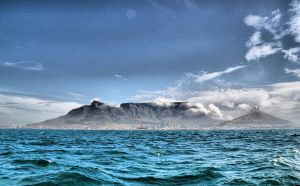 Table Mountain , Cape Town by desgoos