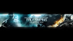 Falx Sniping Banner by StickyGraphics
