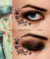 Tuxedo Mask Makeup by Lally-Hime
