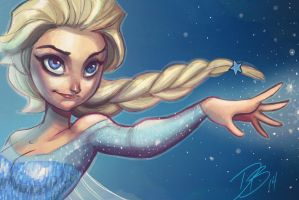Elsa by DaveJorel