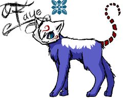 Art trade: Flash-cat .:Faye:. by Spottedfire-cat