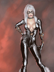Black cat by ACM1899